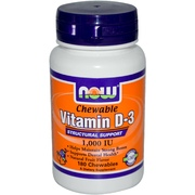 Vitamin D-3 Chewable 1000 IU 180 таб